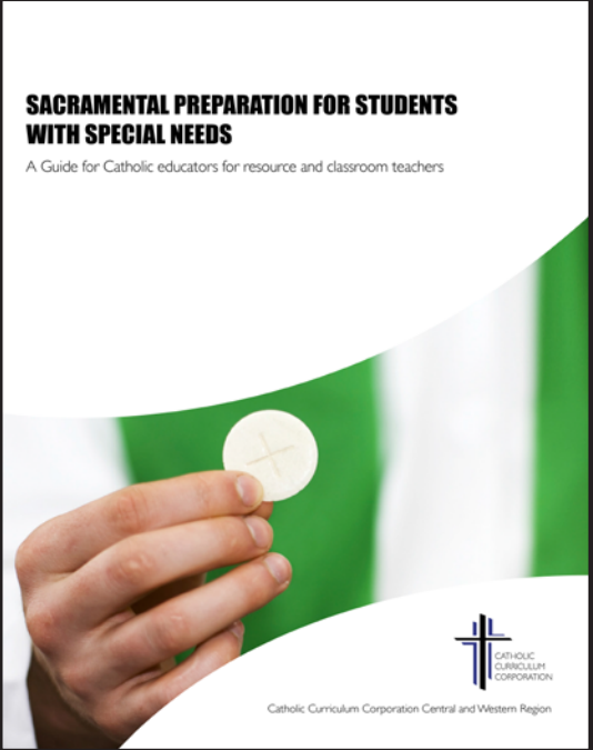 sacramental prep for spec ed students cover